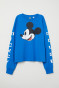 Bright blue/Mickey Mouse