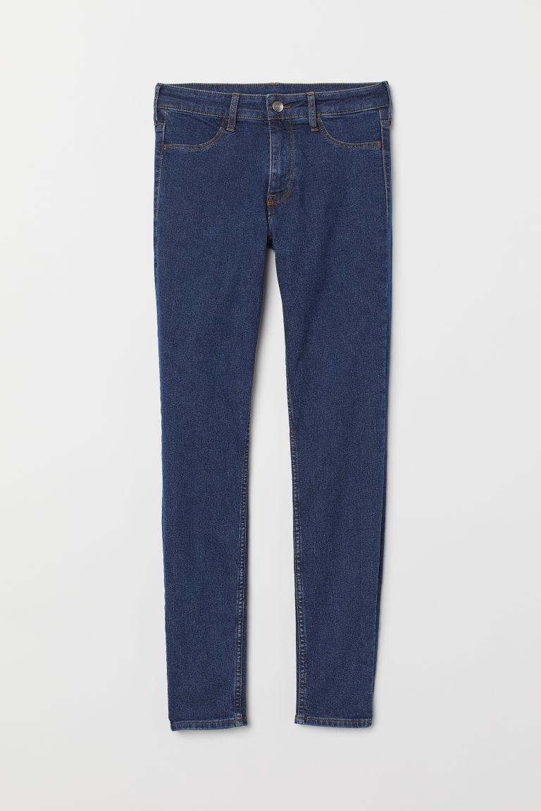 Skinny Regular Ankle Jeans - Dark denim blue - Ladies   H&M GB