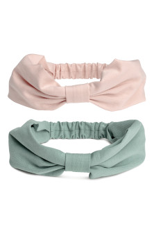 2-pack jersey hairbands