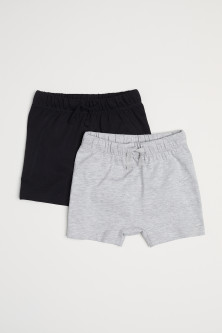 Set van 2 tricot shorts