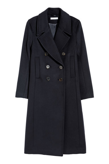 Cappotto - Blu scuro -  | H&M IT