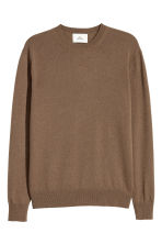 Cashmere jumper - Brown - Men | H&M GB 3