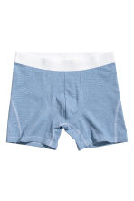 3er-Pack Trunks - Dunkelgrau/Gestreift - HERREN | H&M CH 3