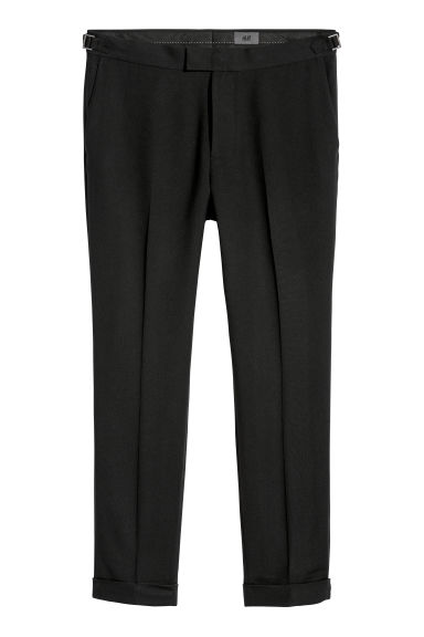 Pantalon de costume Slim fit - Noir -  | H&M FR