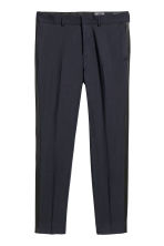 Tuxedo trousers Skinny fit - Dark blue - Men | H&M CN 2