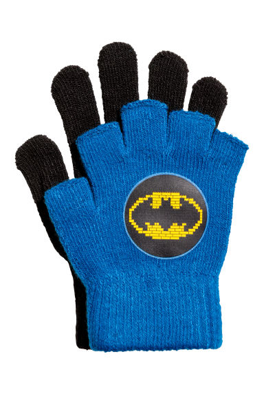 Gloves/fingerless gloves - Blue/Batman -  | H&M GB