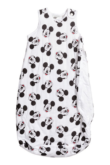 Trappelzak - Wit/Mickey Mouse - KINDEREN | H&M NL