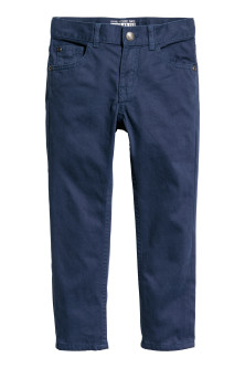 Pantaloni Regular fit in twill