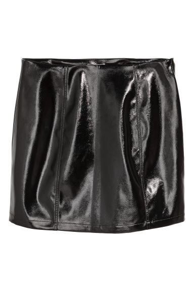 H&M+ Short skirt - Black - Ladies | H&M GB