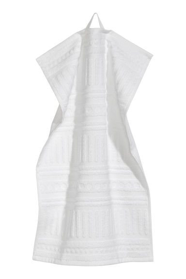 Cotton guest towel - White - Home All | H&M CN