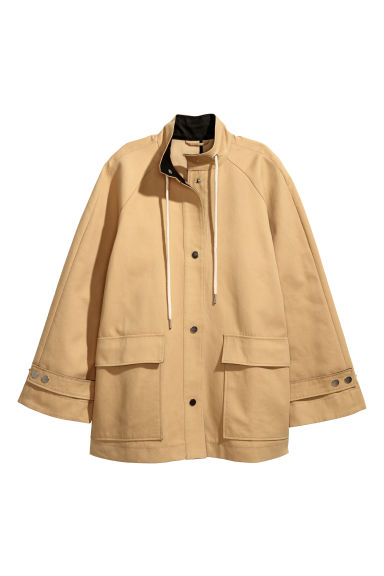 Wide jacket - Beige - Ladies | H&M IE