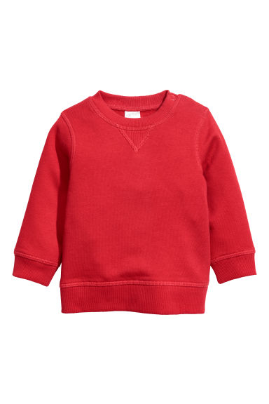 Sweater - Rood - KINDEREN | H&M NL