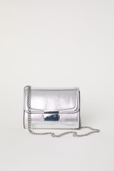 Small shoulder bag - Silver-coloured - Ladies | H&M CN