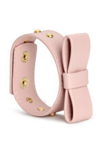 Bracelet with a bow - Powder pink - Ladies | H&M CN 2