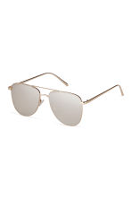 Sunglasses - Gold-coloured - Ladies | H&M IE 2
