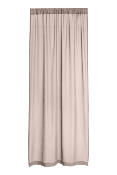 2-pack curtain lengths - Mole -  | H&M GB