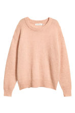 Fine-knit, wool-blend jumper - Powder pink - Ladies | H&M IE 2