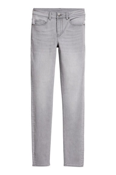Super Skinny Regular Jeans - Light grey - Ladies | H&M