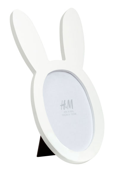 Wooden photo frame - White -  | H&M IE