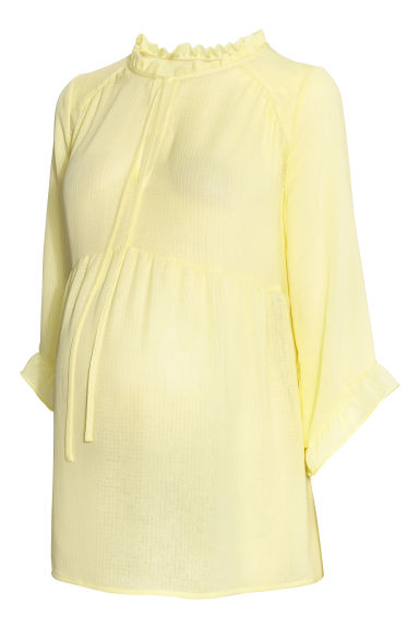 MAMA Blouse - Light yellow -  | H&M