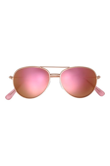 Sunglasses - Rose gold-coloured/Pink - Kids | H&M CN