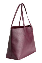 Shopper double-face - Bordeaux - DONNA | H&M IT 2