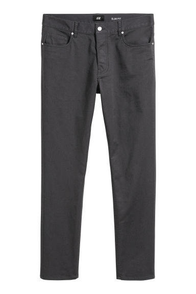Twill broek - Slim fit Model