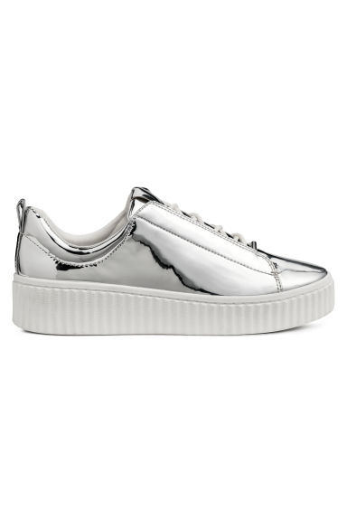 Trainers - Silver-coloured - Ladies | H&M CN