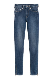Skinny Regular Zip Jeans
