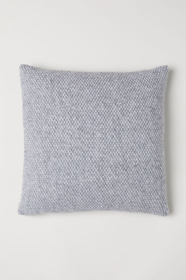 Wool-blend cushion cover - Grey - Home All | H&M CN