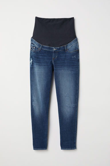 MAMA Boyfriend Jeans - Denim blue - Ladies | H&M