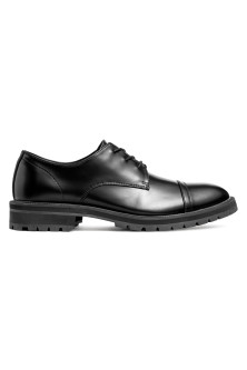 Chunky-soled Derby shoes
