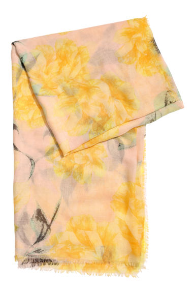 Airy scarf - Yellow - Ladies | H&M CN