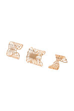 3-pack rings - Gold-coloured - Ladies | H&M 1