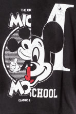 Printed jersey top - Black/Mickey Mouse - Kids | H&M CN 2