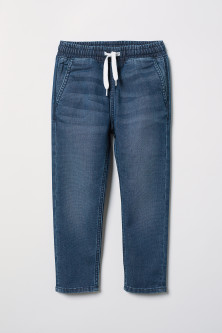 Pantalon jogger en denim