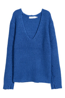 Double-knitted jumper