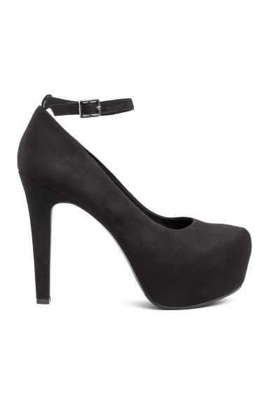 Platform shoes - Black - Ladies | H&M 1