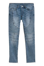 Skinny Biker Jeans - 牛仔蓝 - Men | H&M CN 2