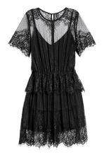 Lace dress - Black - Ladies | H&M 2
