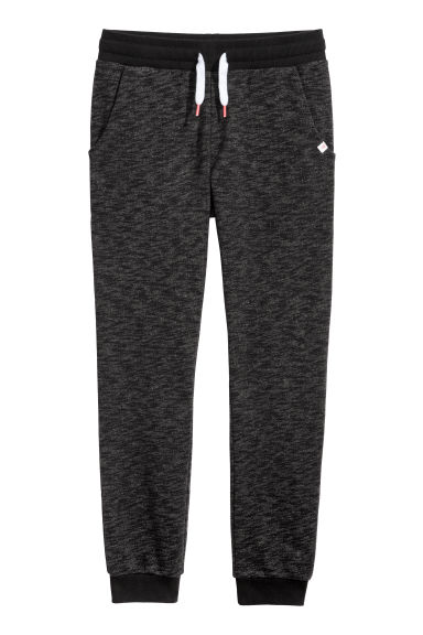 Joggers - Nero mélange -  | H&M IT