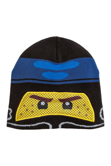 Hat with mesh - Black/Lego - Kids | H&M GB