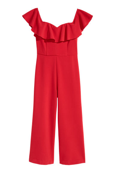 Off shoulder-jumpsuit Modell