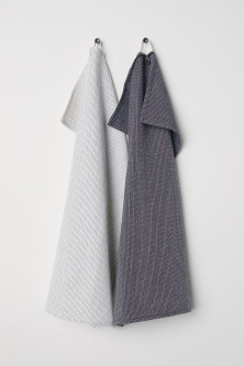 2-pack tea towels