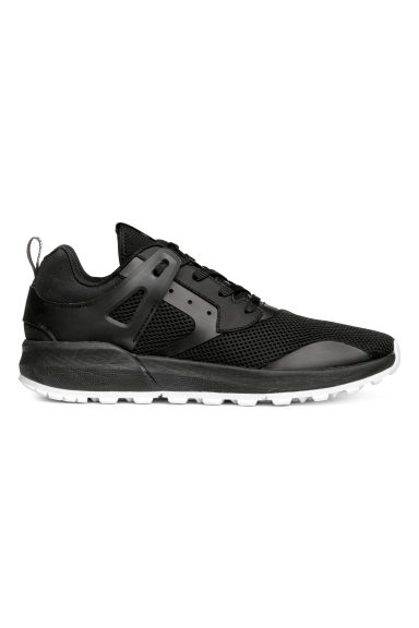 Mesh trainers - Black - Men | H&M CN