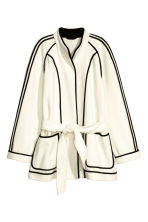 Felted jacket - Natural white - Ladies | H&M CN 2