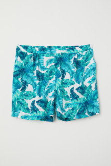 H&M+ Patterned Shorts