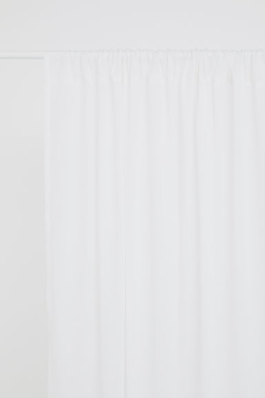 2-pack curtain lengths - White - Home All | H&M CA