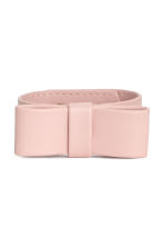 Bracelet with a bow - Powder pink - Ladies | H&M CN 1