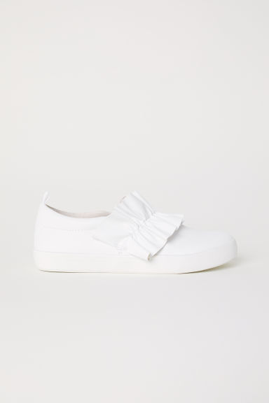 Knot-detail trainers - White - Kids | H&M CN